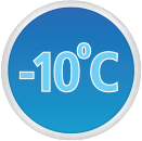 Minimum Service Temperature -10°C