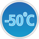 Minimum Service Temperature -50°C